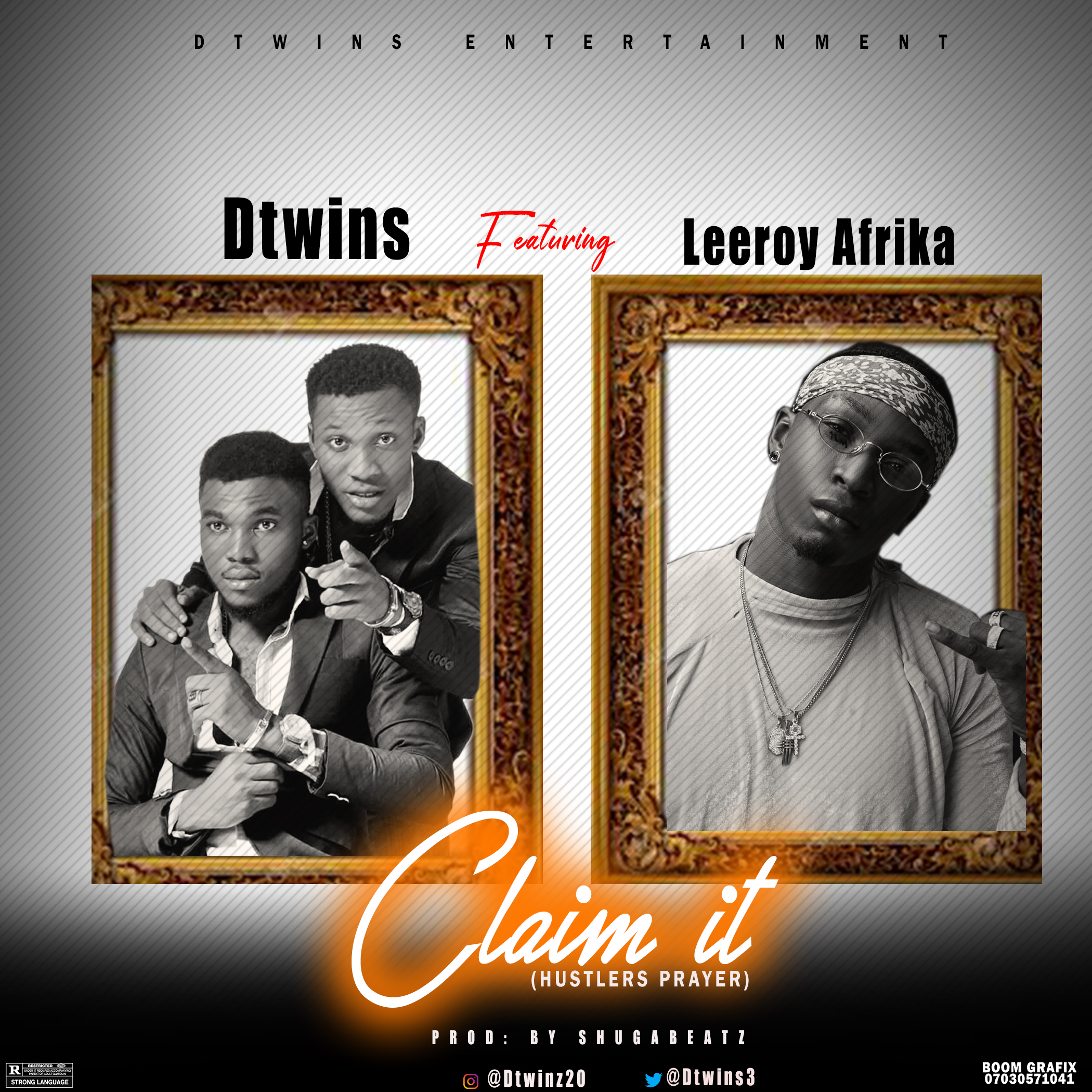 NEW HIT: Dtwins CLAIM IT ft Leeroy Africa (@Dtwins3)